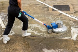 concrete cleaning ball ground ga